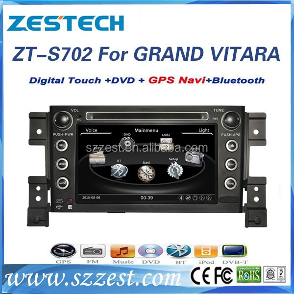 ZESTECH 2015 Latest A8 car gps player for suzuki grand vitara with headunit stereo gps navigation system
