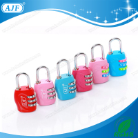 AJF 30mm 4 digits decorative combination style luggage number lock