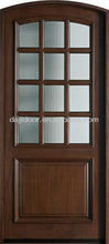 Double Glazed Insulated French Doors Wooden DJ-S5312MA