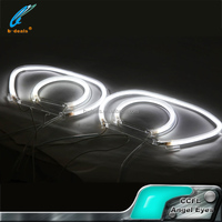 Factory offer auto parts ccfl angel eyes for honda civic angel eyes headlight 2006