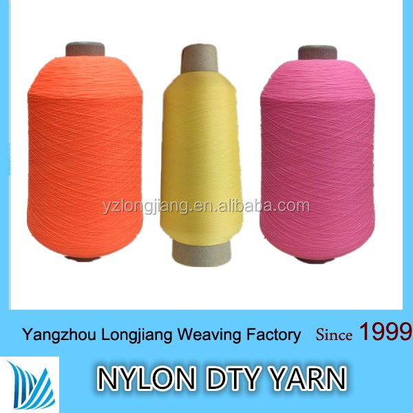 100% nylon yarn anti-pilling nylon 100d semi dull