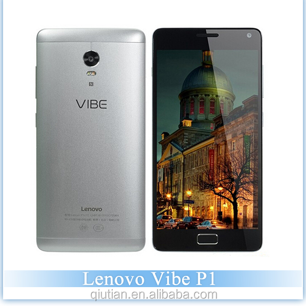 Original Lenovo Vibe P1 4G LTE Mobile Phone Android 5.1 Octa Core 5.5inch 13.0MP 5000Mah battery Quick Charge 3GB + 16GB gmail