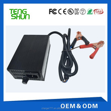 automatic 12v 10a 24v 5a lead acid battery charger intelligent for 12v 100ah batteries