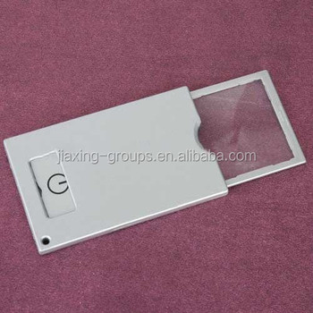 new popular folding magnifier glass, with high quality ,for promotion,custom color,OEM orders are welcome