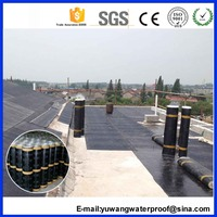 SBS Modified Bituminous flat Waterproofing Membrane For Roof Insulation