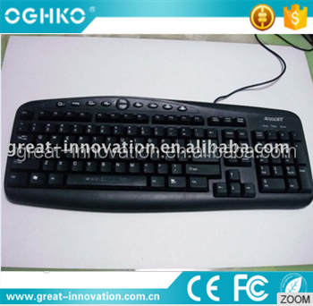 BEST 2.4G Multimedia PS2/USB computer keyboard for many systems