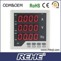power monitor micro-ammeter digital meter digital HZ meter electric combined meter