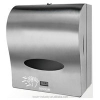 intelligent stainless steel automatic sensor paper towel dispenser