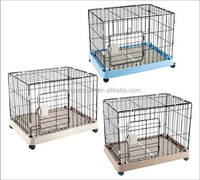 2015 New Luxury Dog Wire Plastic Cage
