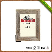 5x7 Rustic vintage reclaimed wood picture photo frame