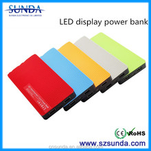 Newest Special Design Plastic Best Portable Power Bank 8000mah For Business Gifts