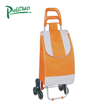 Best Price Grocery Folding Shopping Trolley Bag With Wheel Cart