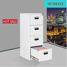 Office KD Structure Vertical Steel Drawer Filing Cabinet