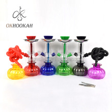 Portable Mini Pumpkin Bottle Cheap Plastic Hookah Shisha