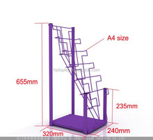 Floor Standing Ceramic Tile Display Ceramic Display Magazine Holder