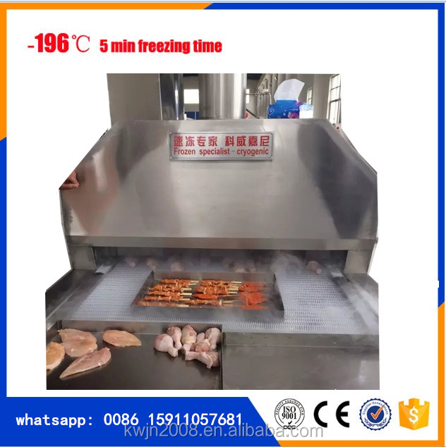 chicken freezing machine from cryogenic group