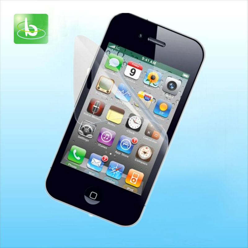 Ultra cheap high quality matte touch screen protector film for iphone 4