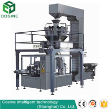 High speed new coffee premade pouch packing machine with auger filler and elevator
