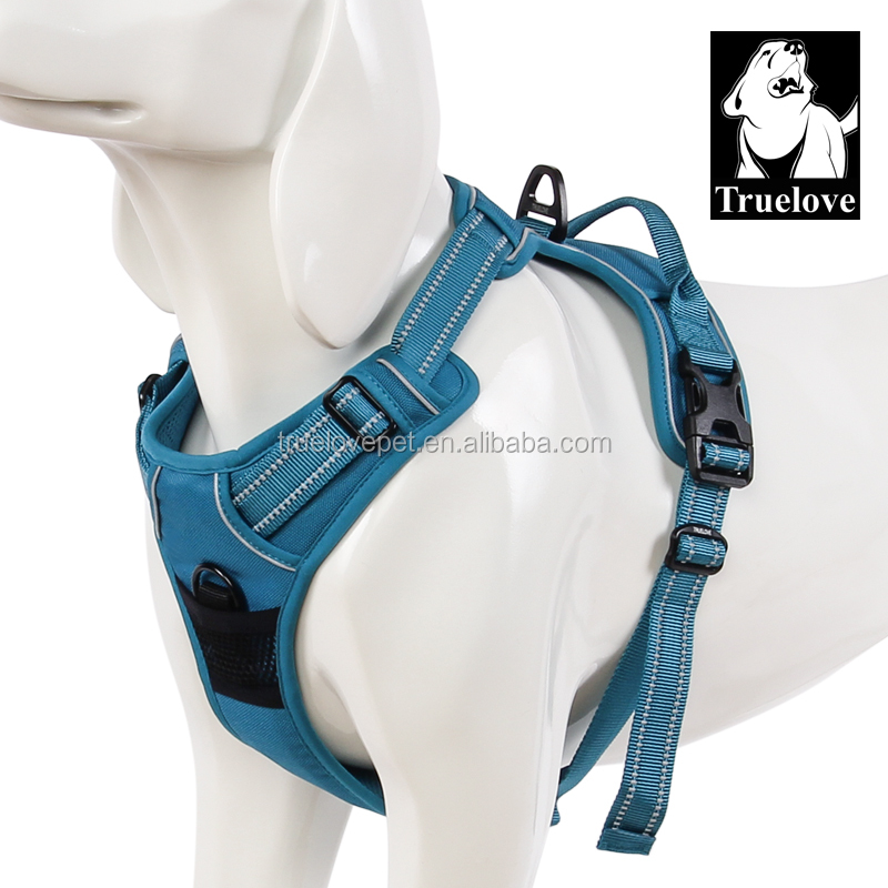 Metal Chain Dog Harness Wholesale, Truelove Pet Dog Harness Mesh, Dog Lift Harness