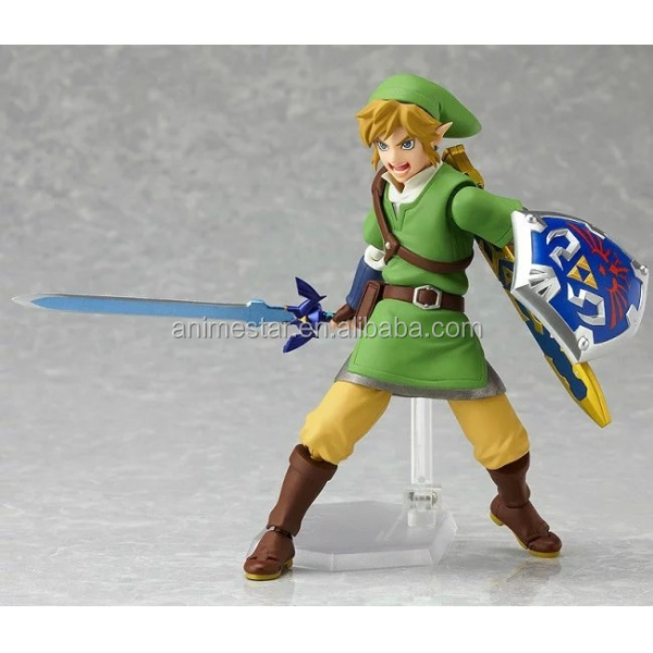 15cm The Legend Of Zelda Link Character Figma Action Figure Collectible Model Toys