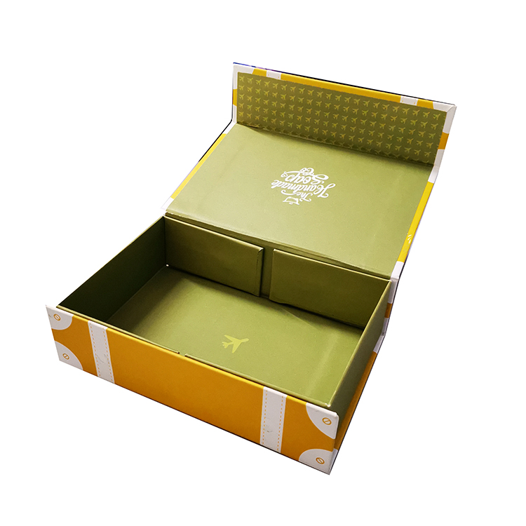 Competitive price cardboard cosmetic paper box custom size box