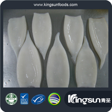 New Arrival Good Quality 100N.W.IQF Skinless First Ring on Cleaned Frozen Todarodes Pacificus Squid Tube (U10/U7/U5)