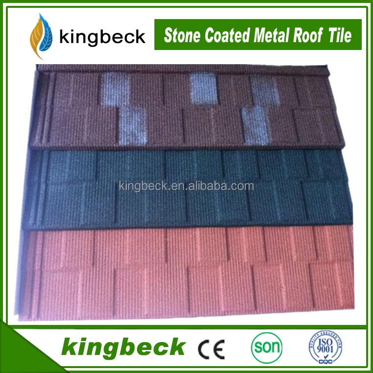 Galvanized Flat Sheet Material stone coated roof tile