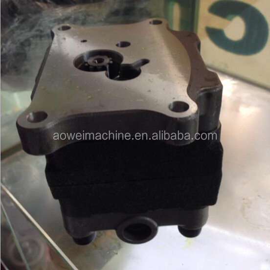 PC50MR-2 pilot gear pump 708-3S-04570, PC55MR-2 oil pump,PC56-7,PC55 excavator hydraulic pump parts