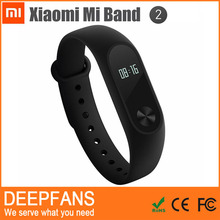 2016 Original Xiaomi Mi Band 2 Smart Heart Rate Fitness Wristband with IP67 Waterproof BT 4.0 OLED Display For Iphone Android