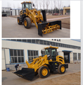 1.6ton hydraulic front loader with implements