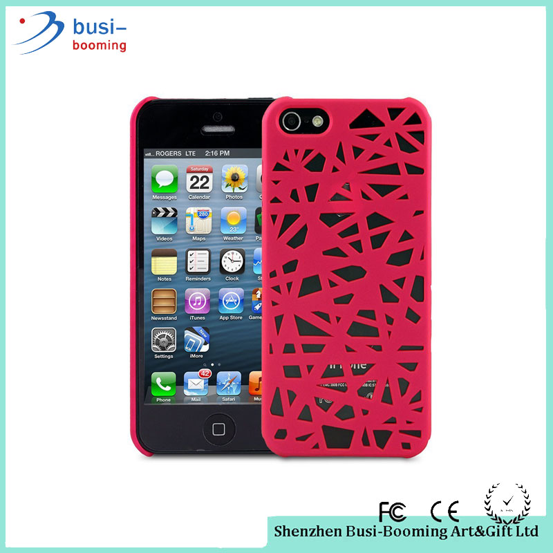 Hard Plastic Hollow Bird Nest Snap On Phone Case Cover Design Your Own Silicone Phone Case For Apple Iphone 6 4.7 Inches