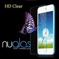 Nuglas 0.3mm Asahi Tempered Glass Screen Protector for iPod Touch 6 with OEM Packaging