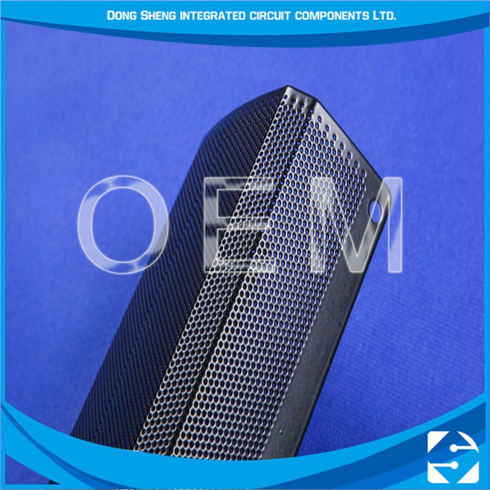Guaranteed Quality Photo Chemical Etching 1MM Hole Galvanized Perforated Metal Mesh Sheets For Speaker Grille