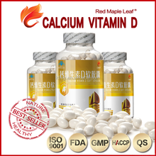 Dietary Supplement Blister Packing Calcium Vitamin D3 Capsules