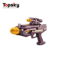 BO space led gun indoor and outdoor toy set awesome battery gun toy