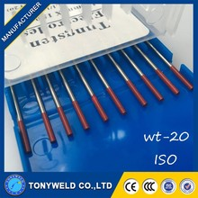 welding rods 1.8-2.2%Thorium RED colour welding electrode