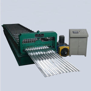 aluminium roofing corrugated roll forming machine