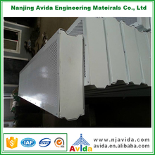Motorway Vehicle Noise Absorbing Aluminum Sound Proof Barrier