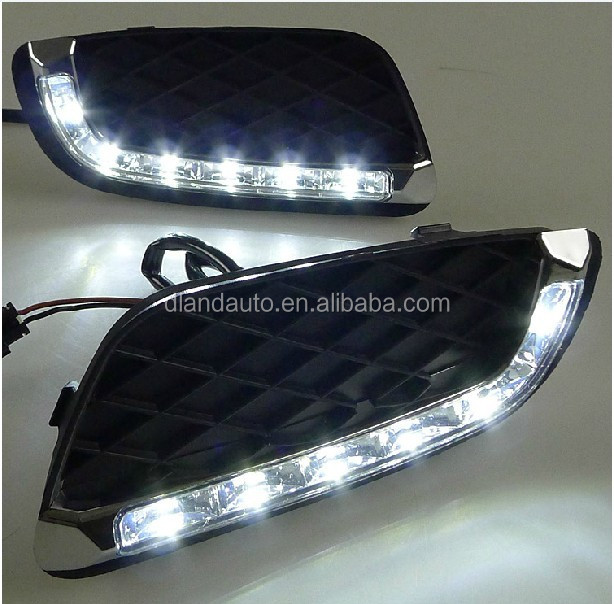 DLAND 2009-2012 MERCEDES BENZ SMART FORTWO SPECIAL LED DAYTIME RUNNING LIGHT FOG LAMP DRL, FOR BRABUS