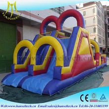 Hansel factory price inflatable castle indoor children large naughty castle jumping bed slide entertainment castle