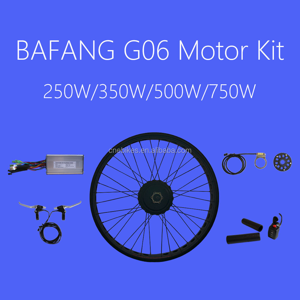 fat tyre ebike conversion kit 750w with bafang engine