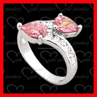 with colorful gemstone jewelry 925 sterling silver ring