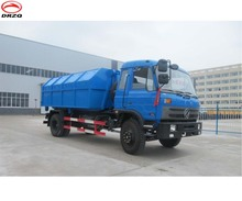 hook lift waste truck compactor garbage truck 10 cbm capacity for sale in Asia