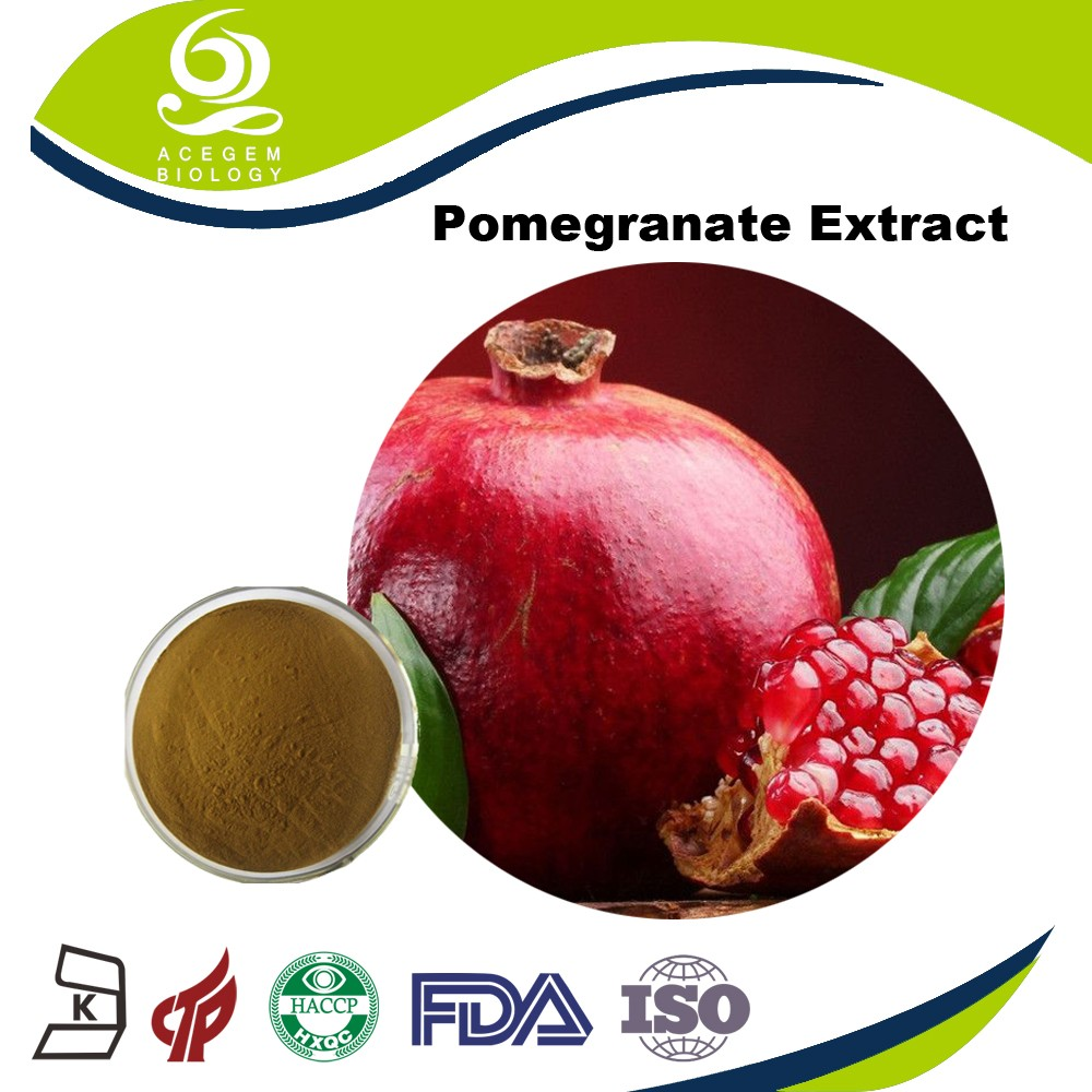 High Quality Pomegranate Extract Whitening Effect With Distributor