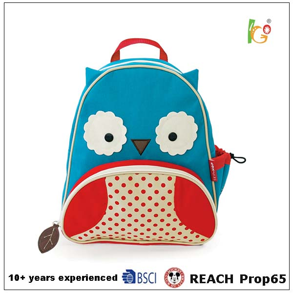 High quality kids cartoon backpack cute funny resistance school bags