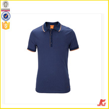 China factory New design Promotional 100% cotton blue pique collar polo shirt for men