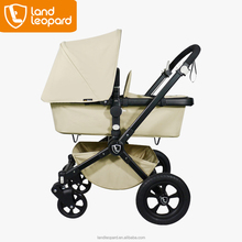 2016 New Design Luxury Line Baby Stroller High End Buggy Good Pushchair with Comfortable Carrycot with Adaptor for Car Seat