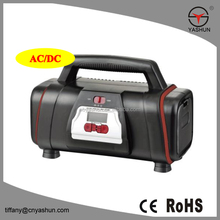 2017 new product DC AC mini Tire Inflator 12V 120V Electric Car tyre Air Compressor