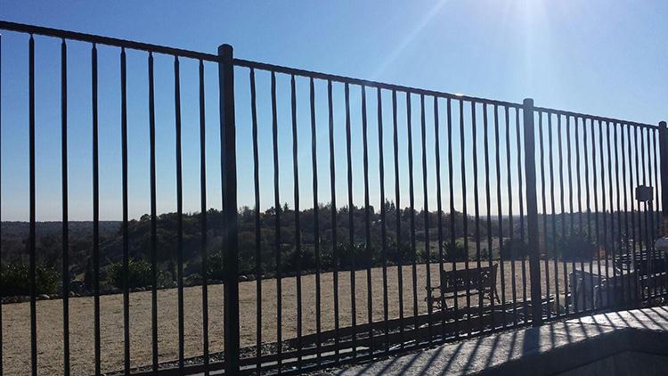 Security steel fence garden fencing panels buy
