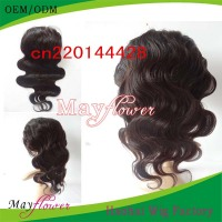 Natural color 28inch full lace wig european remy hair body wavy 180% density glue lace wig freestyle part